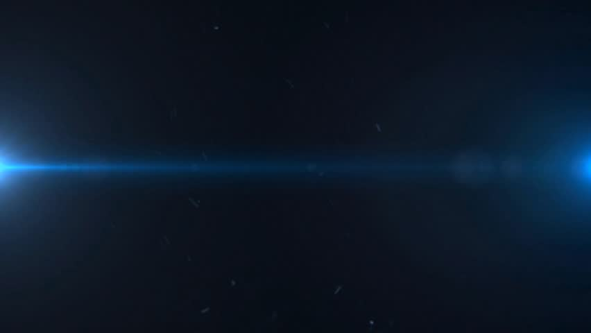 Lights Flares and Dust Particles Background
