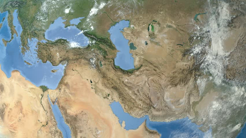 Middle East K Pan The Middle East Is A Region That Roughly - Middle east satellite map
