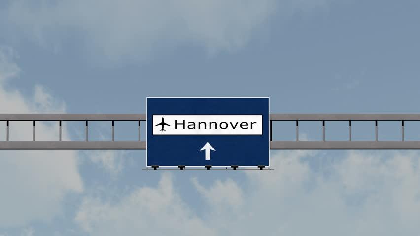 4k passing nuremberg nurnberg germany airport highway sign