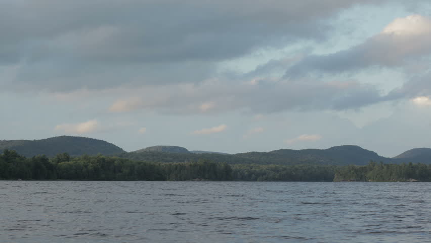 Lows lake in Adirondack state park