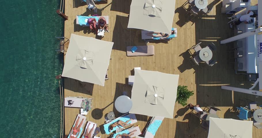 Top view of beach | Shutterstock HD Video #12508907