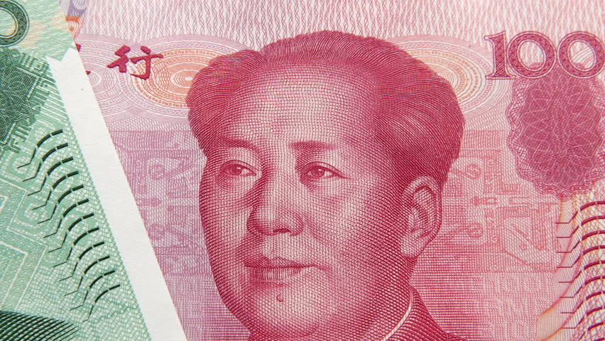 Chinese Banknotes Of Diffe Denominations Stock Footage Video 100 Royalty Free 12546287 Shutterstock