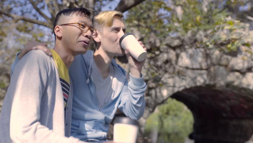 Gay park video free