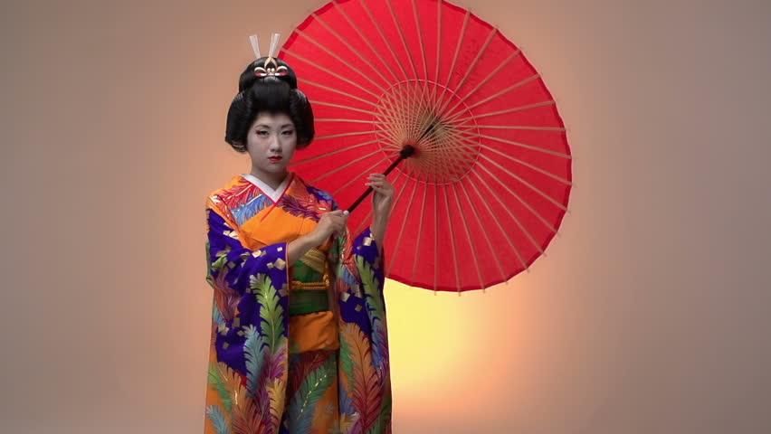 asian dance japanese parasol