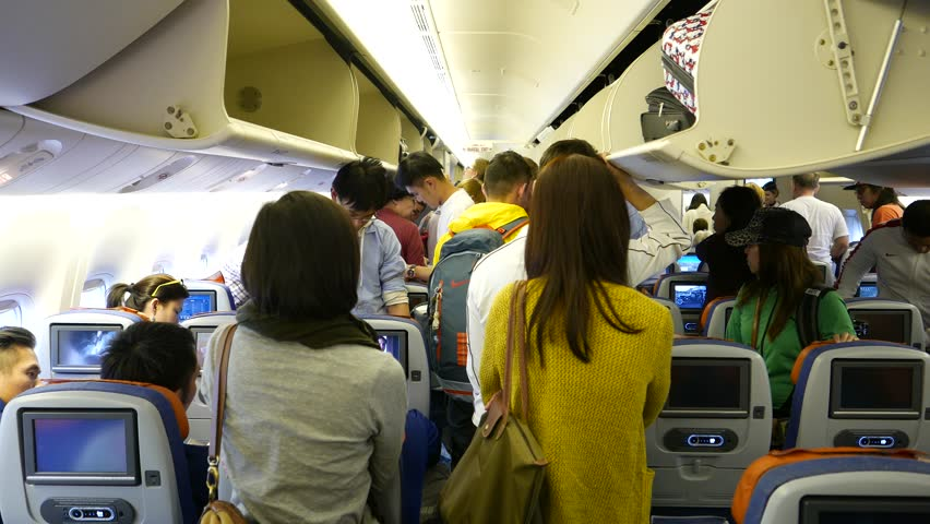 Image result for queue at plane cabin