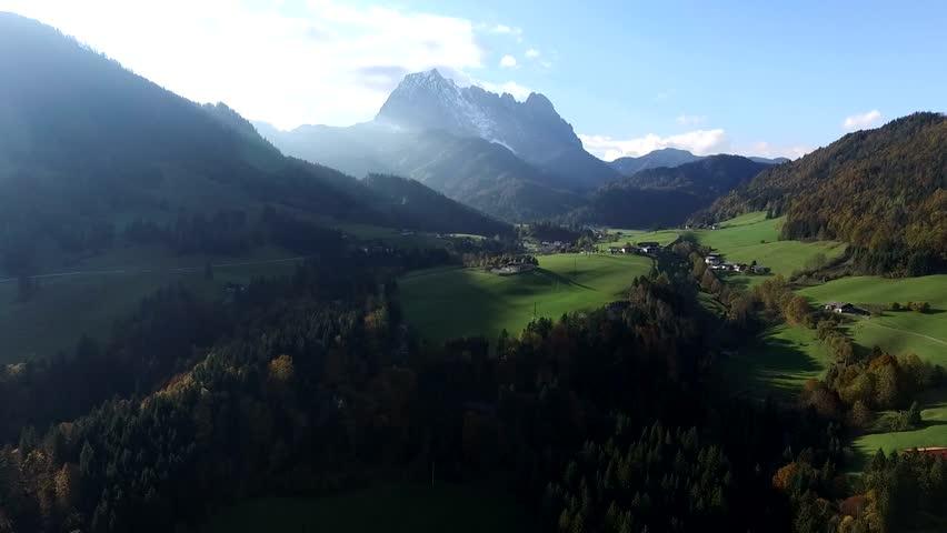 flight over austria, tirol  #12643487