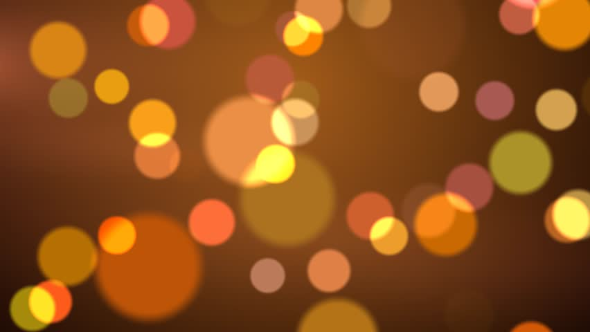 Golden Shimmering Bokeh Party Lights Abstract Background Stock Footage Video 12655457