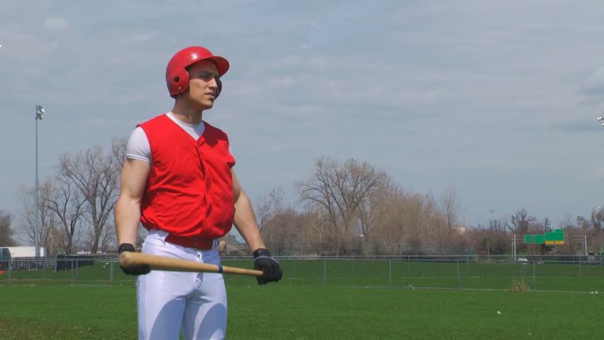 Baseball player body