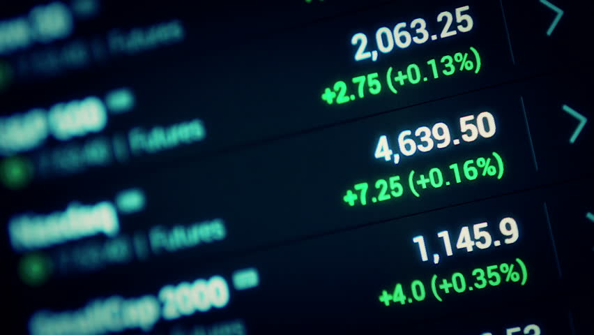 Stock market tickers moving background . 4K. | Shutterstock HD Video #12799784