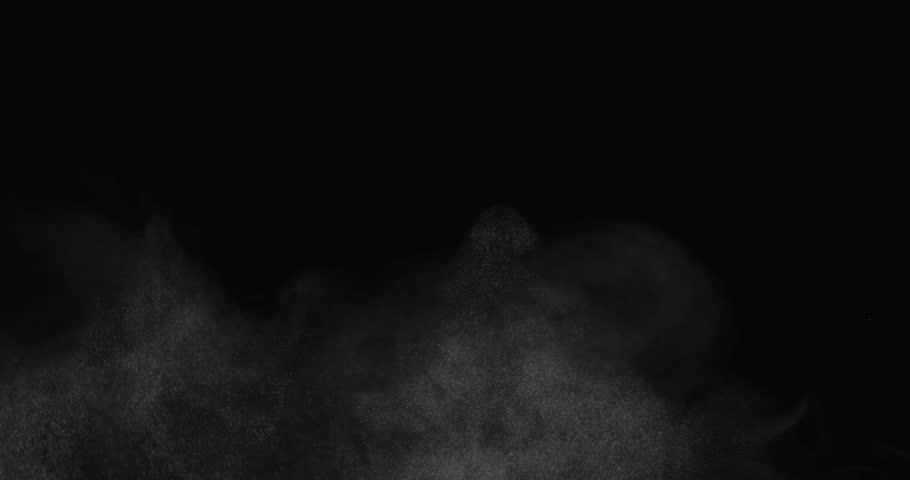 Rough atmospheric effect filling bottom of screen shot in studio | Shutterstock HD Video #12801929