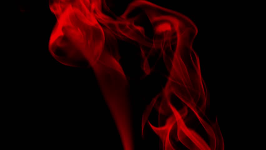 red smoke on black background stockvideomarketingcom