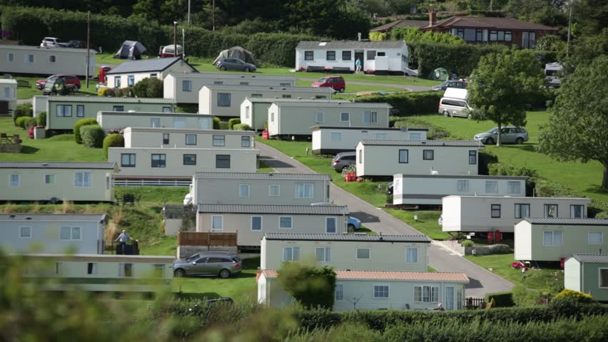English Mobile Homes Park Stock Footage Video (100% Royalty-free) 12883007  | Shutterstock