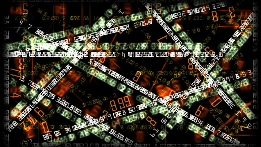 Financial numbers background | Shutterstock HD Video #129187