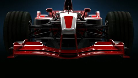 Formula One Car Detail Close up. HD