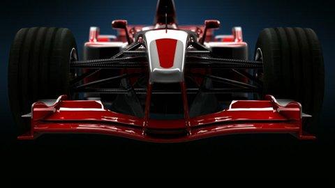 Formula One Car Detail Close up. HD
