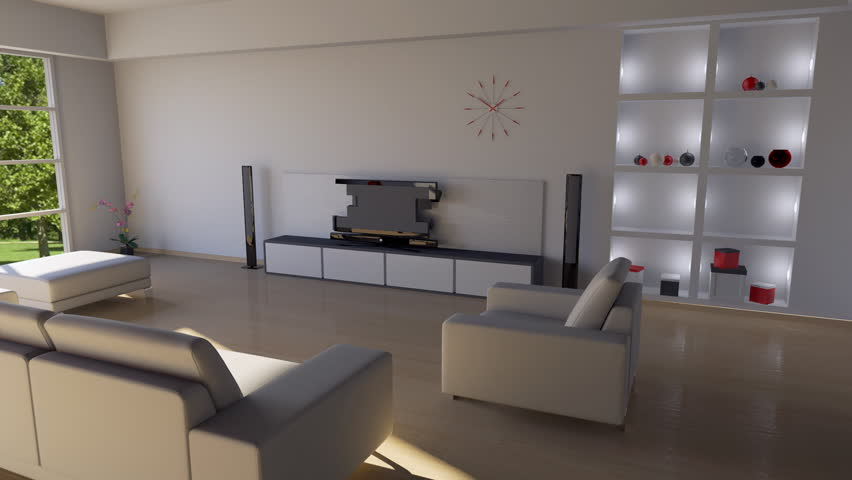 Building Up Modern Living Room