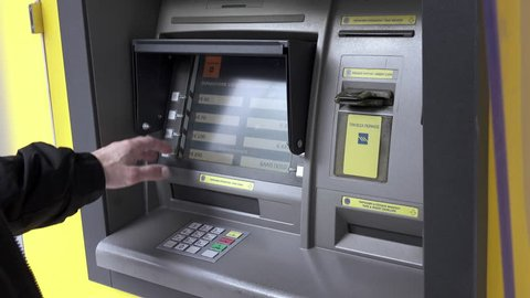 29 November 2015.Empty on cash,transaction rejectedReal footage of an atm machine in Greece failing to give out cash due to banknotes shortage.Banking capital controls consequences in Greece.