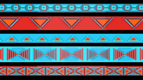 3D TRIBAL PATTERN WEBBING BACKGROUND ANIMATION. TRANSPARENT ALPHA CHANNEL. Ideal for ethnic documentary movies background, TV shows, intro, news, commercials, Lego games or indigenous related projects