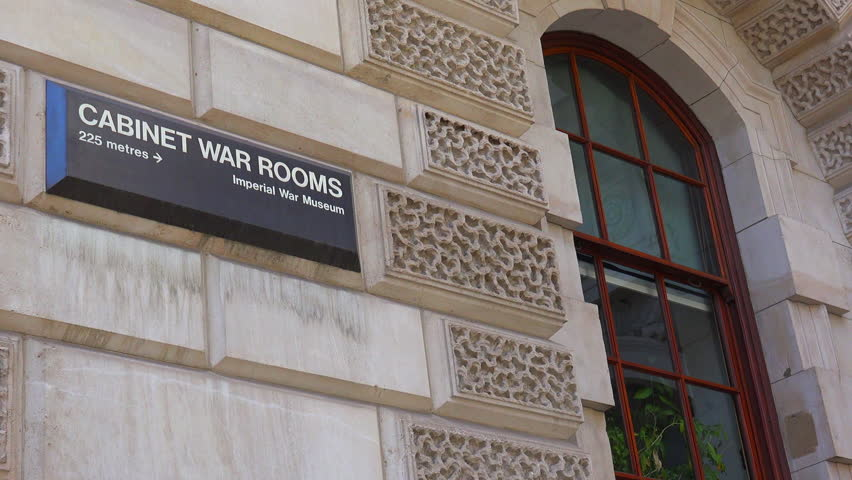 london england circa 2015 establishing shot of the cabinet war rooms of british - Brick Apartment 2015