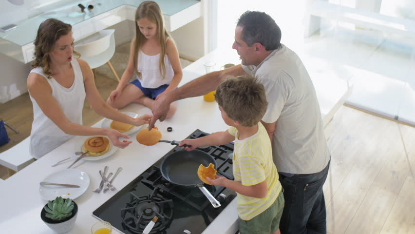 Stock video of family making pancakes for breakfast in 13159457 stock video of family making pancakes for breakfast in 13159457 shutterstock ccuart Images