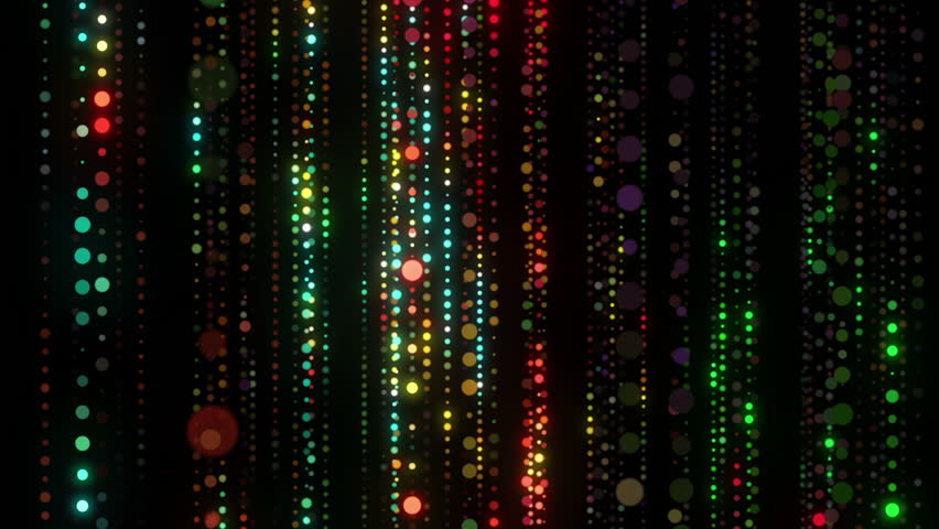 Disco LED lights colorful particles seamless background for music videos, holiday events, christmas and new year slide shows, night clubs, stage design, mix, openers, awards, concert, videodecorations | Shutterstock HD Video #13162367