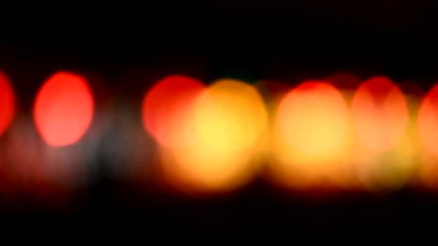 Defocused night traffic lights-Songkhla | Shutterstock HD Video #13179227