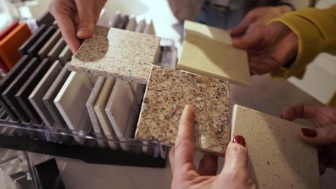 samples of quartz material for the manufacture of quartz sinks. choice and offer vendor-manager customers