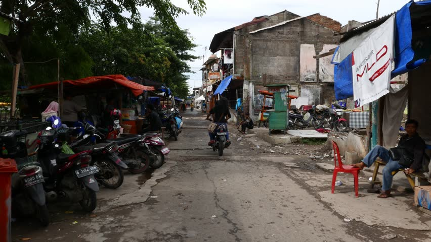 Image result for indonesia slum