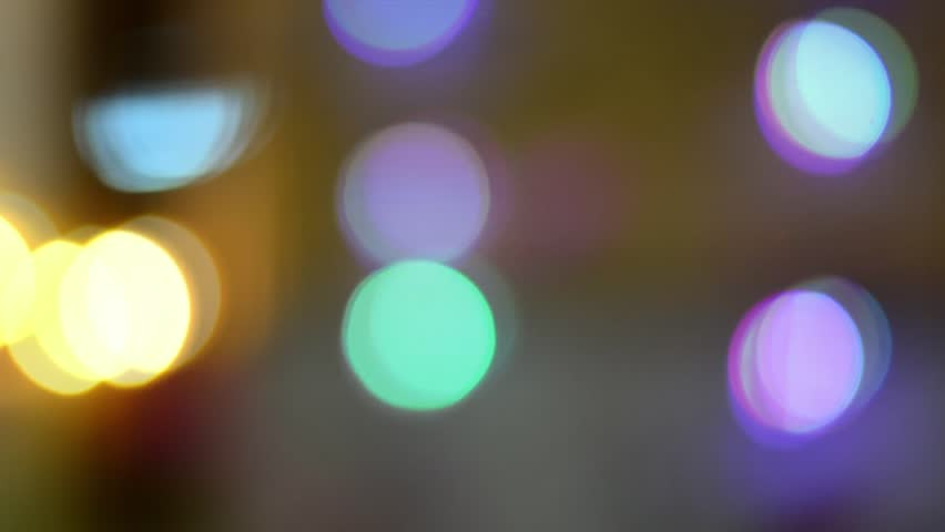 Blurred, bokeh lights background. Abstract sparkles. Full HD loop, 1080p. | Shutterstock HD Video #13288097