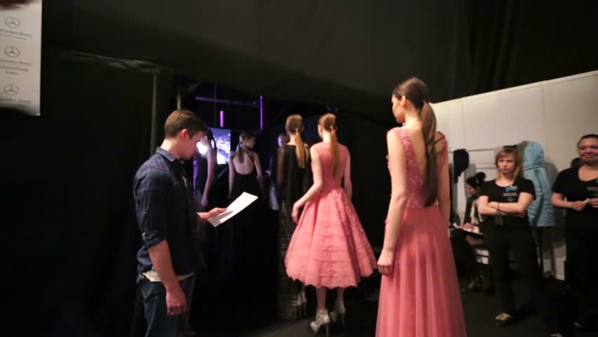 HD 4K Video clips of fashion shows
