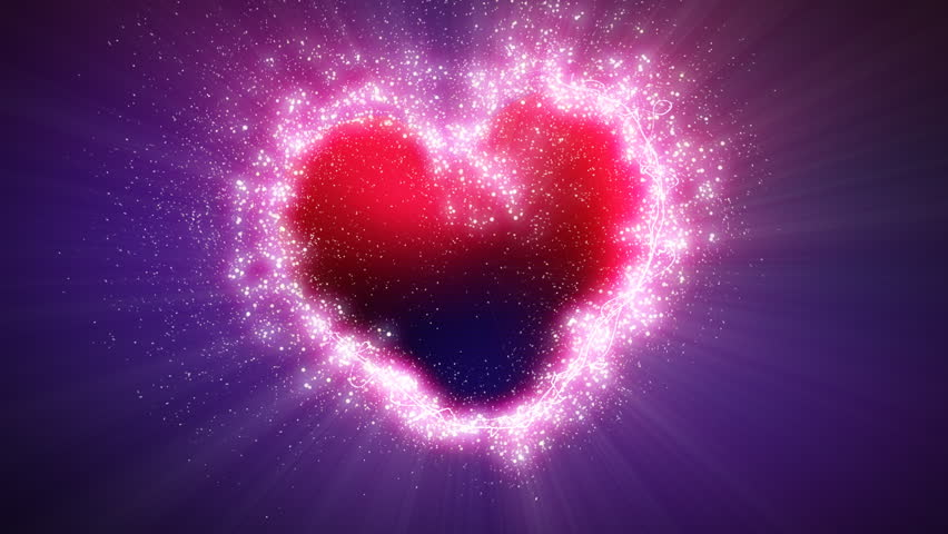 explosive heart shape