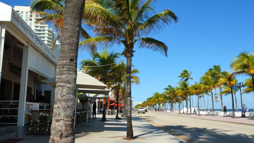 Fort Lauderdale December 20 Stock Footage Video 100 Royalty