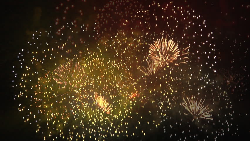 Fireworks : seamless loop