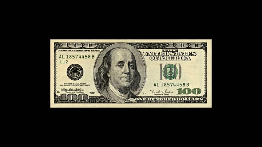 American One Hundred Dollar Bills Stock Footage Video (100% Royalty-free)  1358617 | Shutterstock