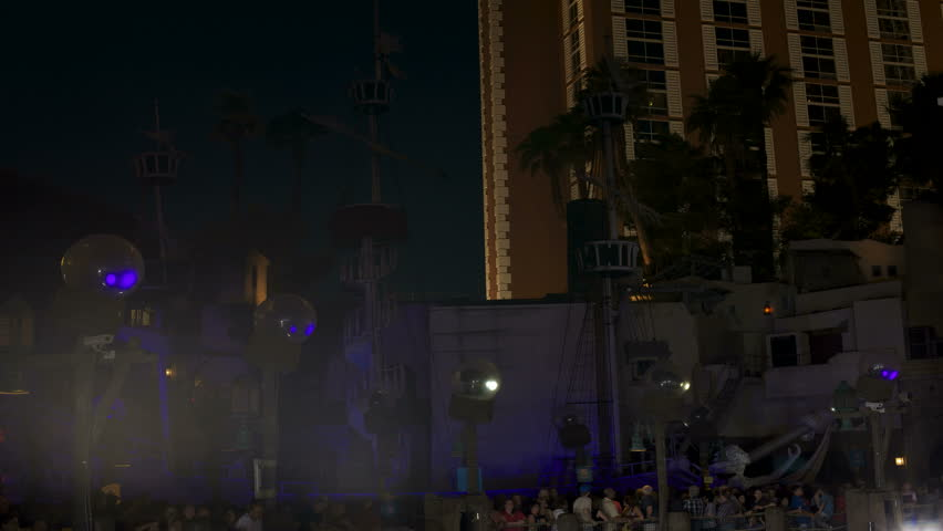 4K Las Vegas Time Lapse: The Sirens of TI performing their last live show  on the Las Vegas Strip at the Treasure Island Hotel.