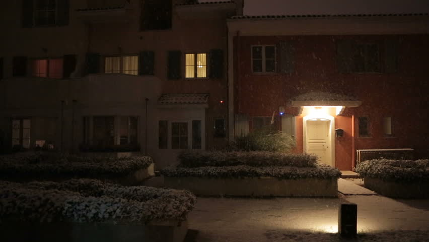 Apartment Inside Night night exploding door raked right white large house apartment