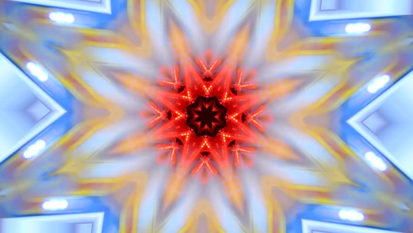 Colourful abstract circular kaleidoscopic motion   Shutterstock HD Video #13653917