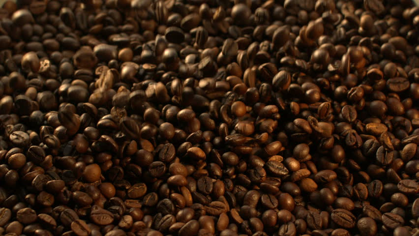 Beans of Coffee Raining at Slow Motion 1500fps | Shutterstock HD Video #13666937