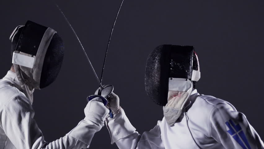 Fencing - Fencers in Action