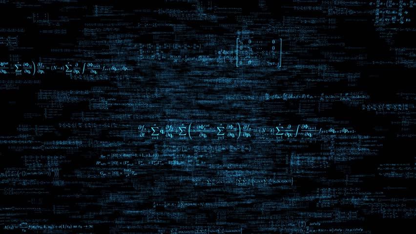 Formula formulae fly through math science data financial teacher tech 4k   Shutterstock HD Video #13794503