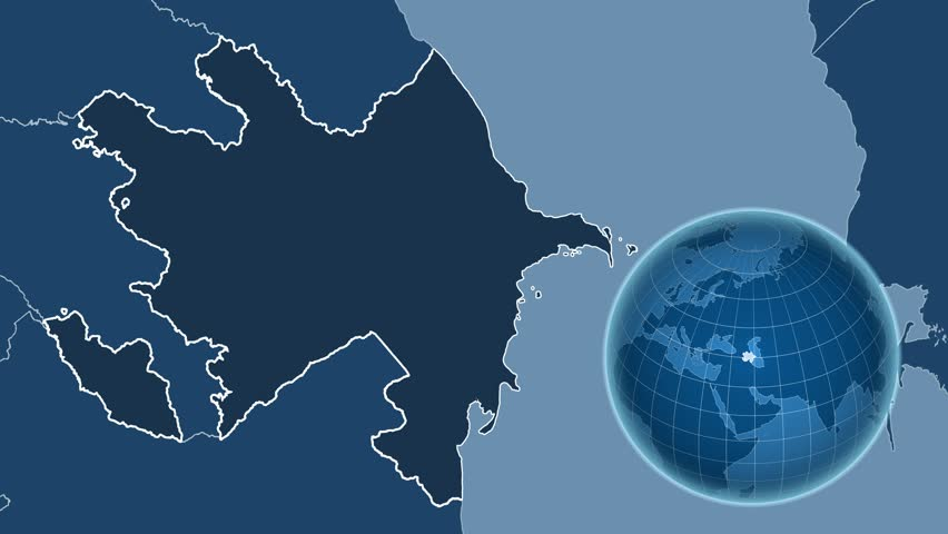 Australia Shape Animated On The Elevation Map Of The Globe - Australia elevation data
