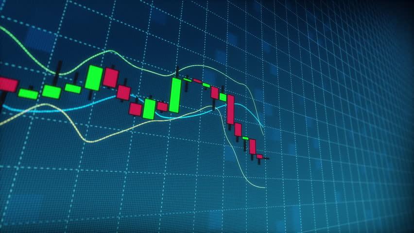 Stock in Candlestick Chart | Shutterstock HD Video #13913447