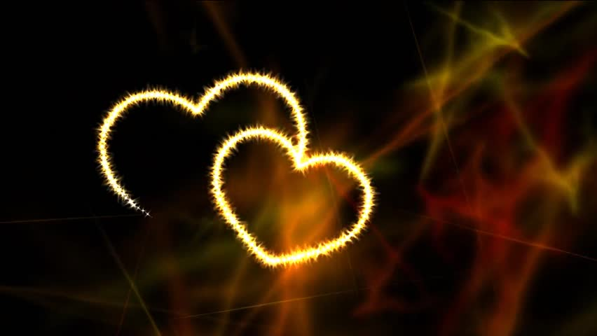Two Animated Sparkles Hearts Video Nice Stock For Wedding Footage With Flare Your Or Love Story Films Le And Intro