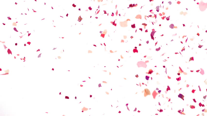 Colorful Confetti Video Background Slow Motion Stock Footage 14027897 Shutterstock