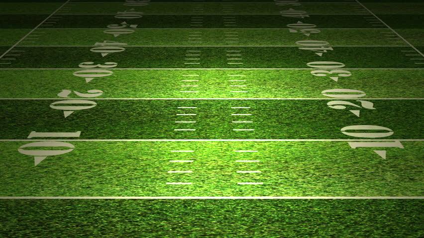 American football field tactics animation.