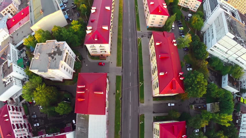 Gomel, Belarus - September 10, 2015: Cityscape And Architecture - 2 | Shutterstock HD Video #14089061