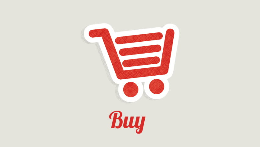 Buy online icon design, Video Animation   Shutterstock HD Video #14145977