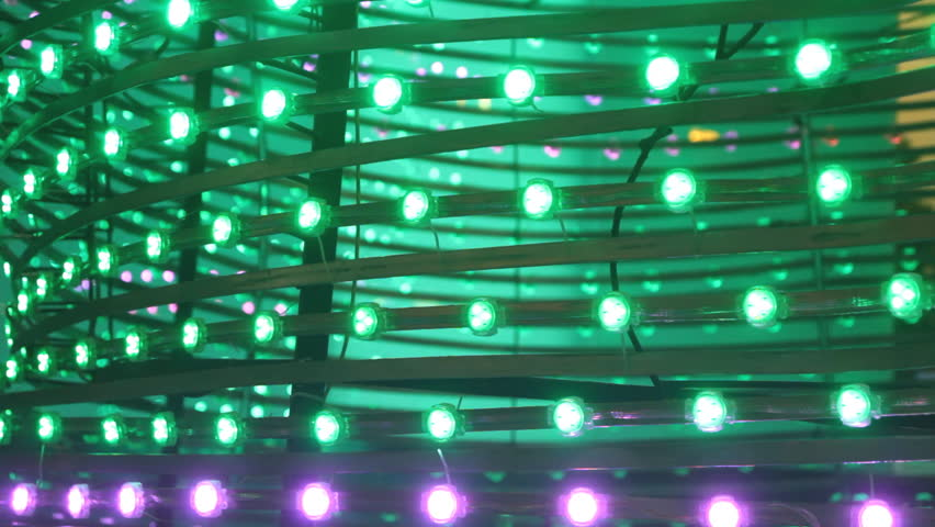 Fancy lights on display - HD stock footage clip & LED Lights Color Background LightLight Wall Video Background ... azcodes.com