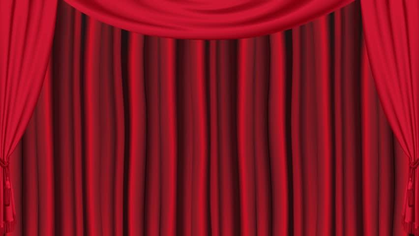 Theater Curtain Opening | Shutterstock HD Video #1431037