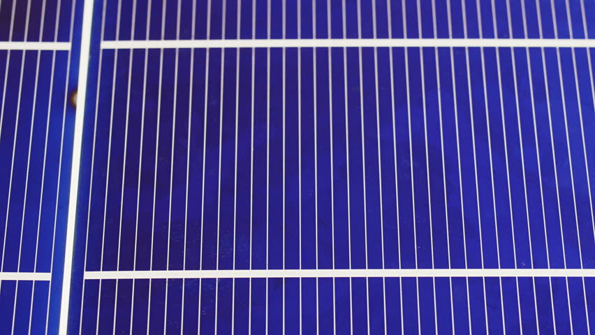 Solar panel cell elements components, detail view background, sliding video | Shutterstock HD Video #14319397